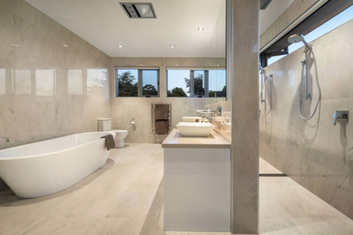Bathroom renovation in Melbourne undertaken by Campis