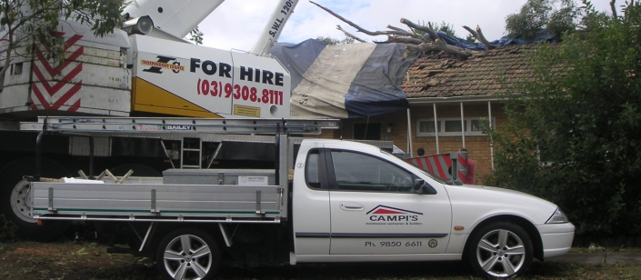 Campis undertaking Building Repair in Melbourne