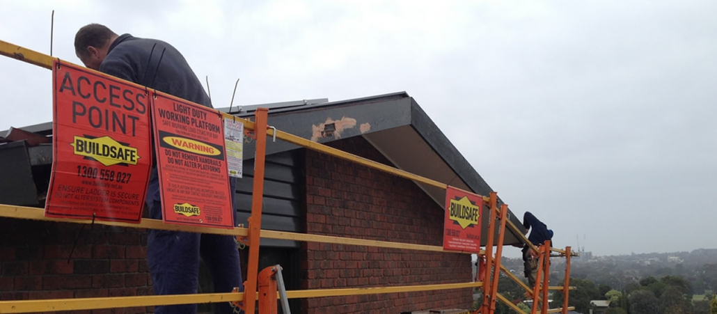 Campis undertaking building repairs in Melbourne