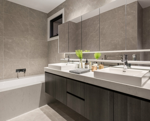 Bathroom renovation carried out in Melbourne by Campis