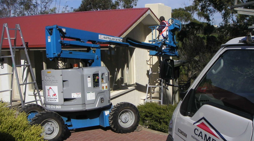 Campis providing painting services in Melbourne.