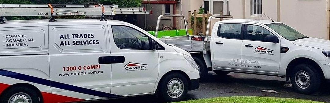 Campis undertaking building maintenance in Melbourne